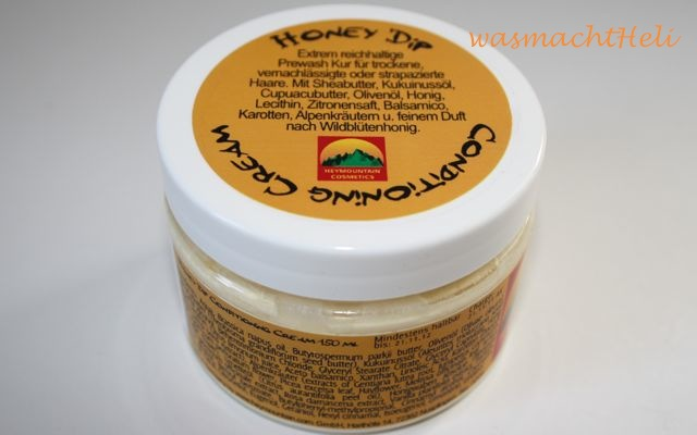 Heymoutain Honey Dip Conditioning Cream Review