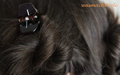 gedrehte Haarkringel