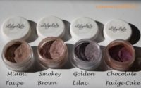 Lily Lolo Lidschatten – Swatches, Swatches, Swatches