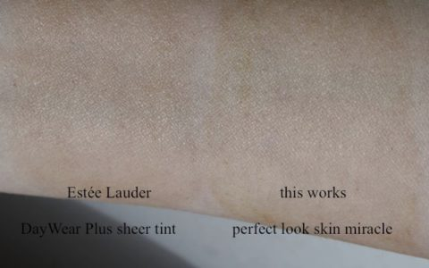 DayWear Plus sheer tint und this works perfect look skin miracle Swatches