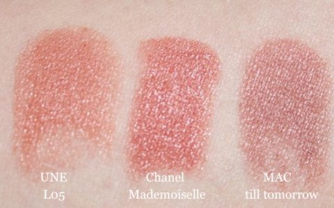 Swatch UNE L05, Chanel Mademoisselle, MAC till tomorrow