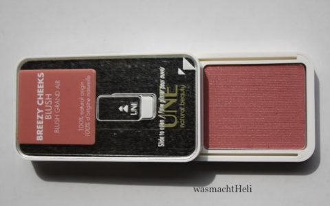 Foto offene Verpackung UNE Blush - Review