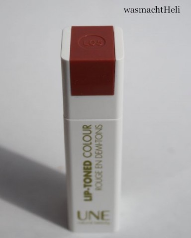 Foto zur Review: UNE Beauty lip toned colour