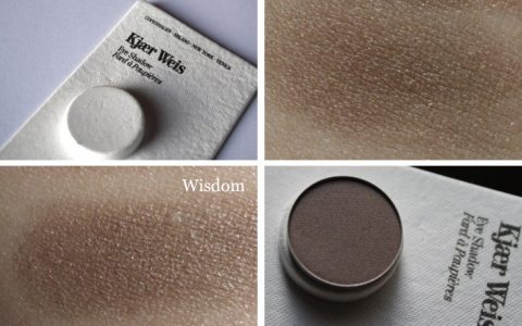 "Review: Kjaer Weis Eyeshadow ""Wisdom"""