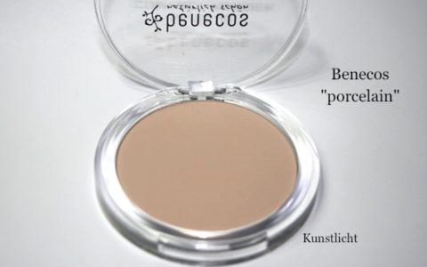 Testbericht: Benecos Compact Powder Kompaktpuder in porcelain