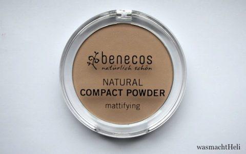 Review Benecos Natural Compact Powder porcelain
