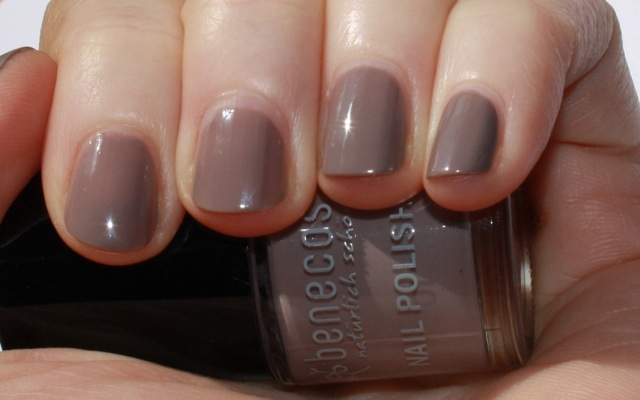 "Swatch: Benecos ""urban grey"" Nagellack"