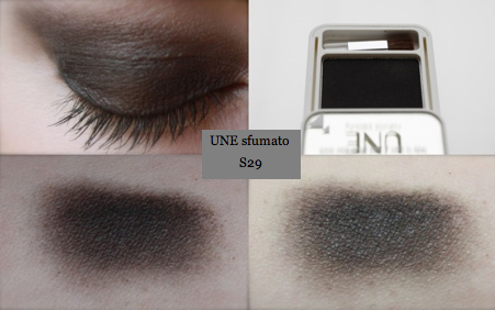 Swatch + Makeup UNE Sfumato Eyes S29 Eyeshadow
