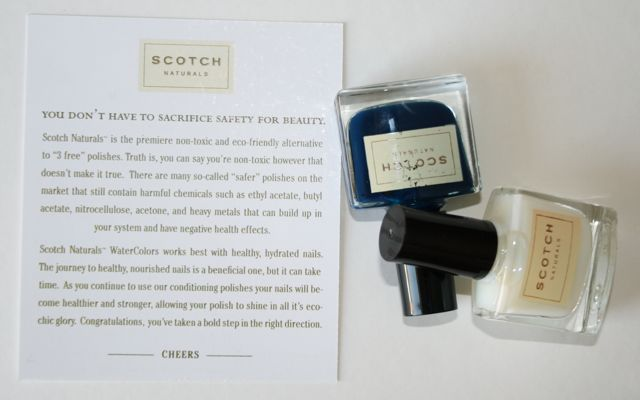 Scotch Naturals Nail Varnish - Tips for the perfect finish