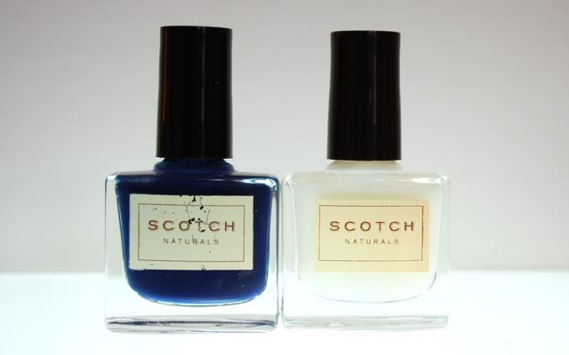 Review: Scotch Naturals Watercolors Seaboard + Topcoat On the Rocks