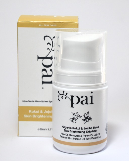Pai Kukui + Jojoba Beed Skin Brightening Exfoliator