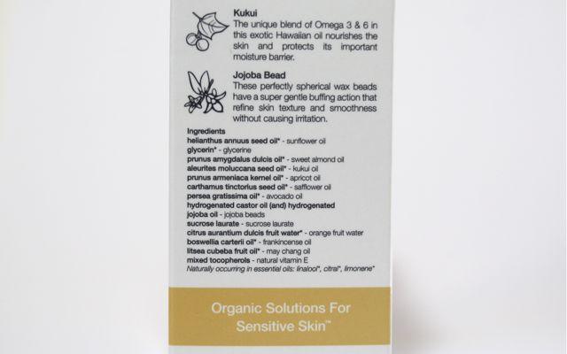 Inhaltsstoffe Pai Kukui + Jojoba Bead Skin Brightening Exfoliator