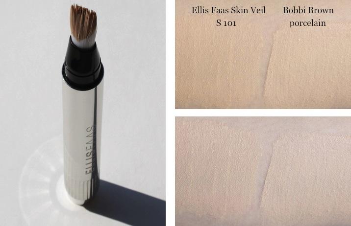 Swatch Ellis Faas Skin Veil Foundation S101 Light/Fair
