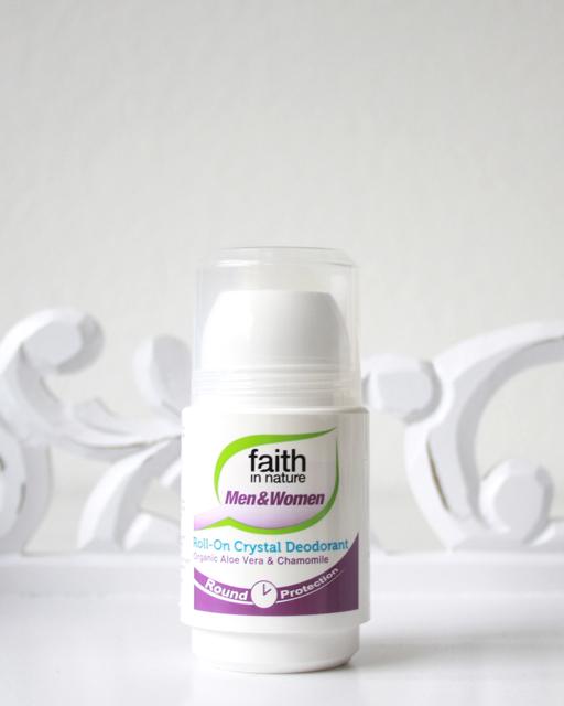 faith in nature Crystal Deodorant roll on