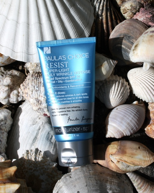 Paula's Choice resist super light spf 30 daily wrinkle defense