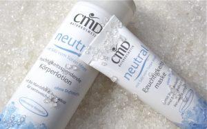 CMD Naturkosmetik Neutral Koerperlotion + Maske mit Salz aus dem Toten Meer