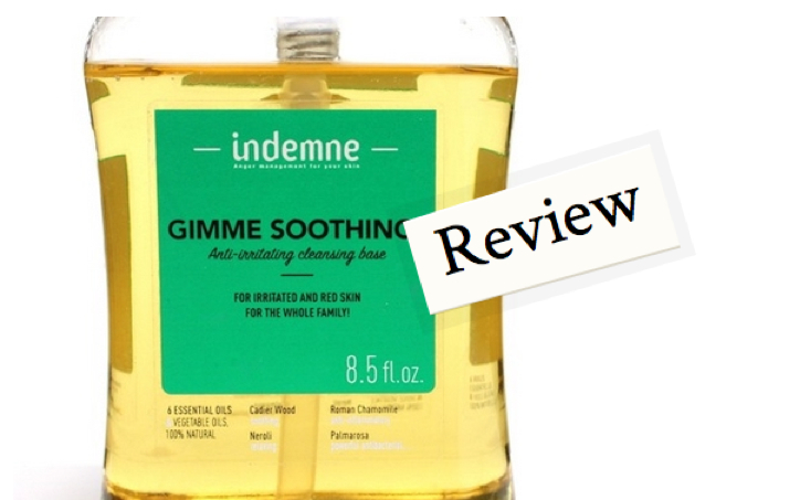 Indemne Gimme Soothing Cleansing Base - Review