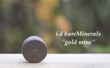 "bareMinerals i.d. shadow liner ""gold mine"""