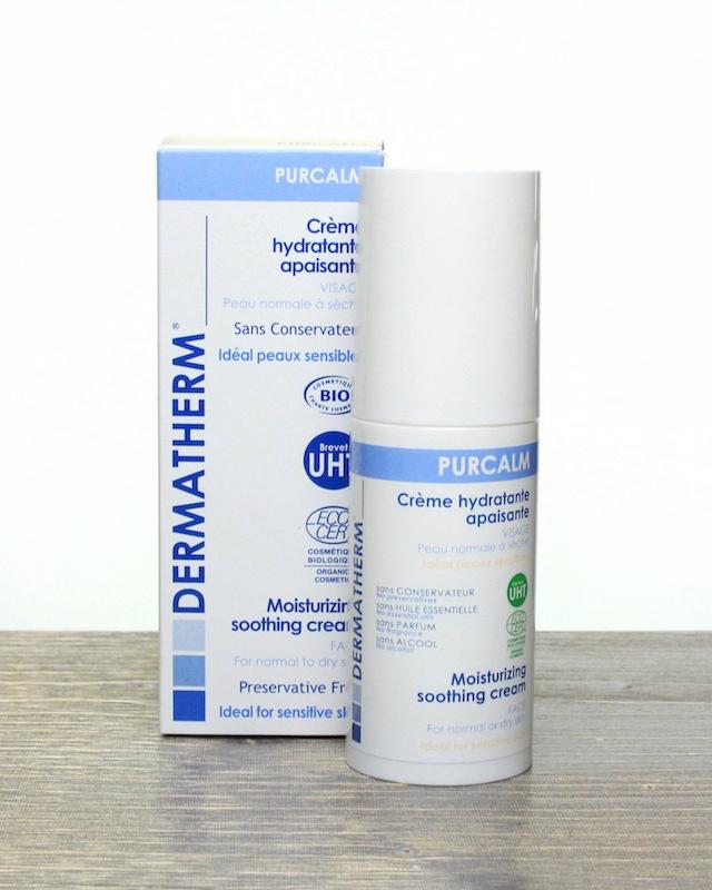 Review: Dermatherm Bio Moisturizing Soothing Cream, creme hydratante apaisante