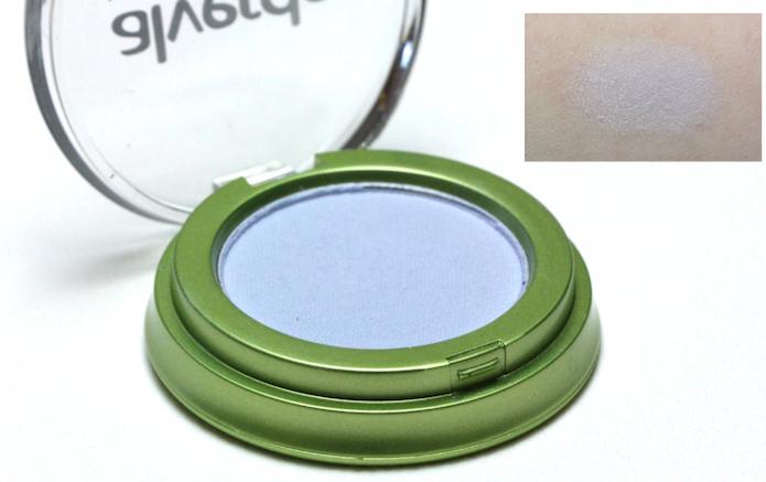 Alverde Lidschatten mono matt - 80 grayness blue Swatch