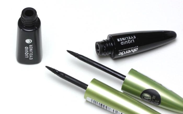 Alverde Liquid Eyeliner - 10 black - alt versus neu