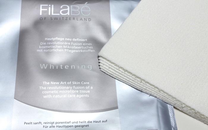 Test der Filabe Whitening Gesichtspflegetuecher