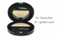 Goldene Lichtreflexe mit Dr. Hauschka – 01 golden sand