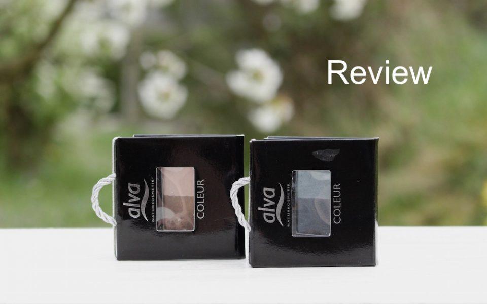 "Review: alva eyeshadow duos ""gold"" + ""silver"""