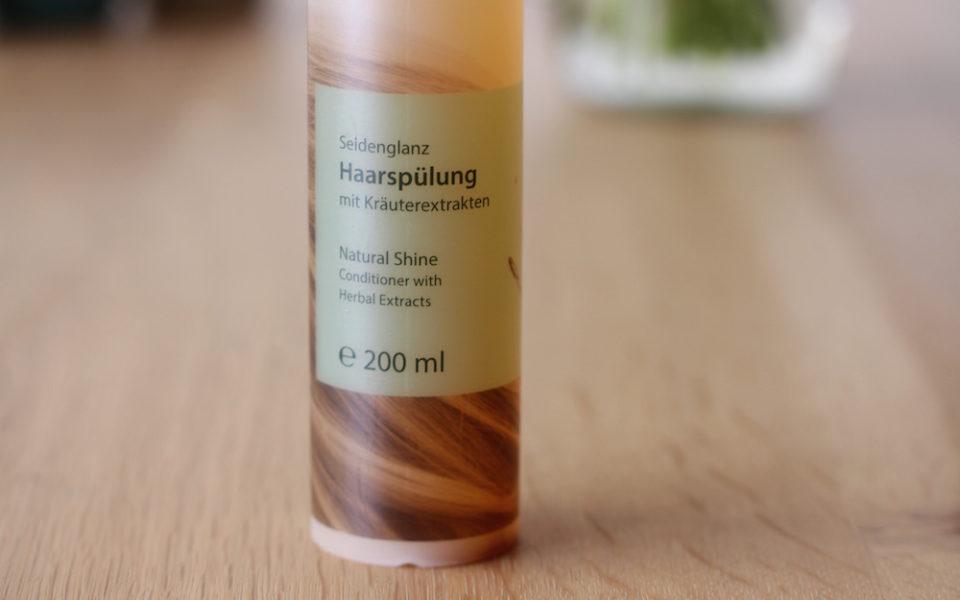 Review Angana Seidenglanz Haarspuelung