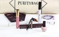 Eine schöne Mascara, ein guter Eyeliner und ein Flop — in der Purity Bag