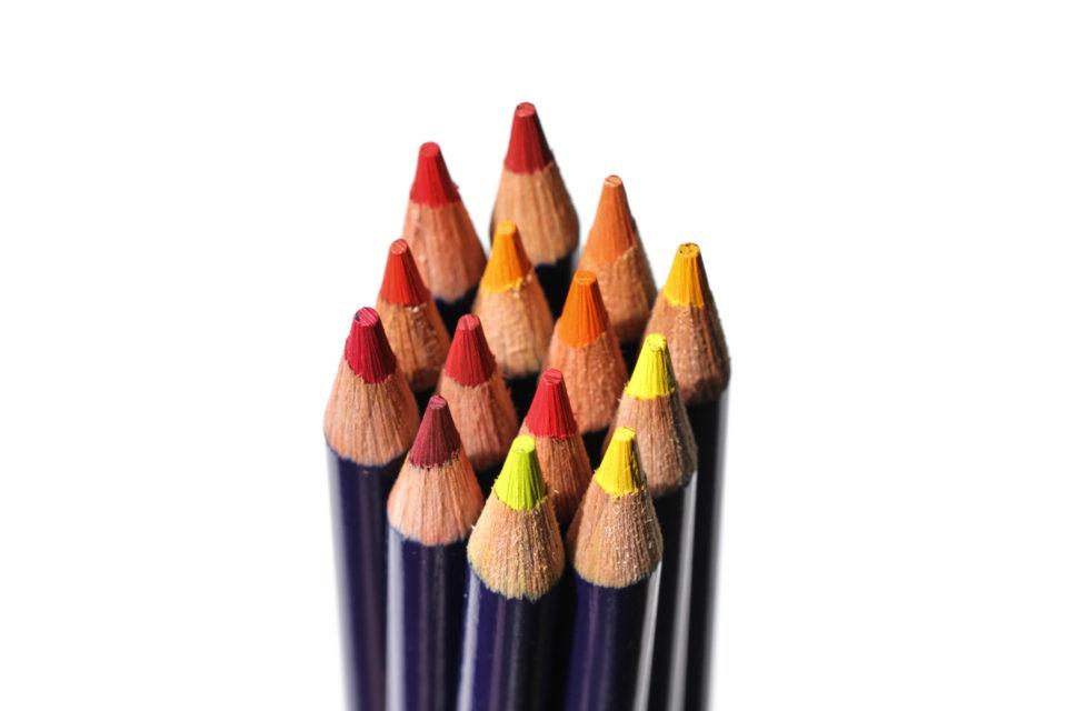 crayons color pencils