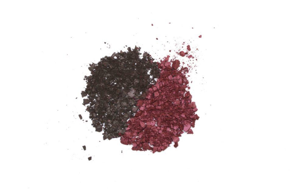 beauty crushed eye shadow charcoal purple eggplant