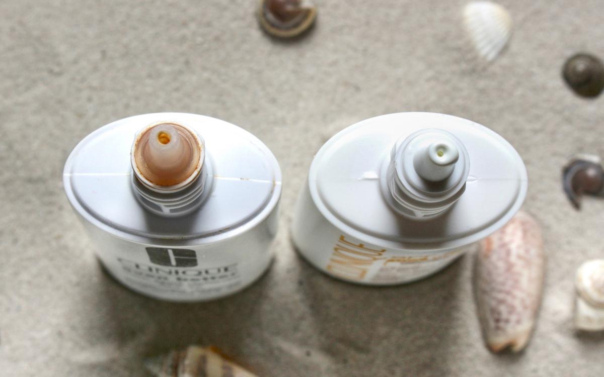 Clinique Dark Spot Defense SPF 45 versus Clinique Mineral Sunscreen Fluid SPF 50