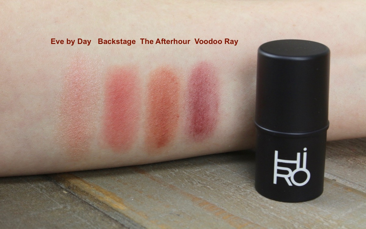 "Swatches HIRO Multisticks ""Eve by day"", ""Backstag"", ""The After Hour"", ""Voodoo Ray"""
