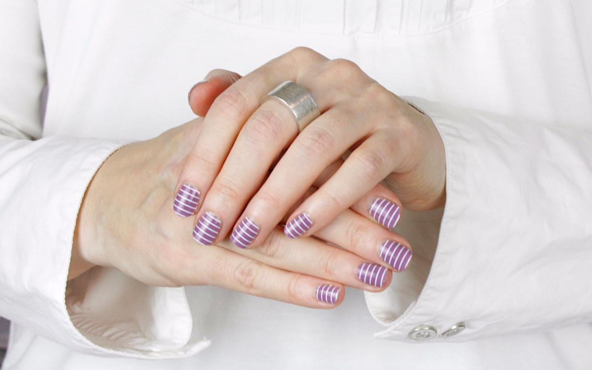 Nail Wraps So Gloss Stripes