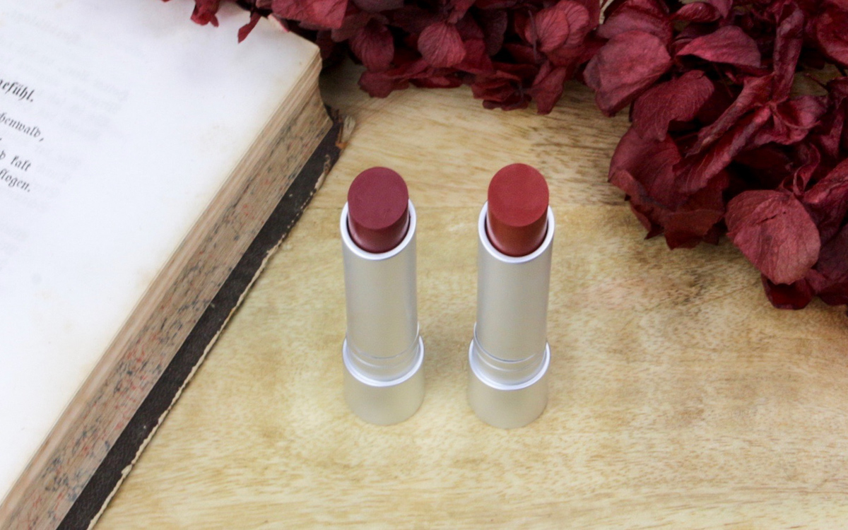 "Review + Makeup: RMS Wild With Desire Lipsticks ""rapture"" + ""russian roulette"""