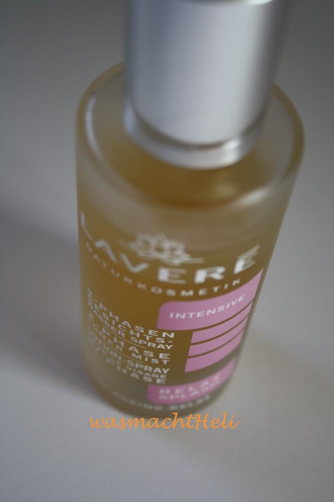 Lavere Relax Splash 2 Phasen Gesichtswasser Spray