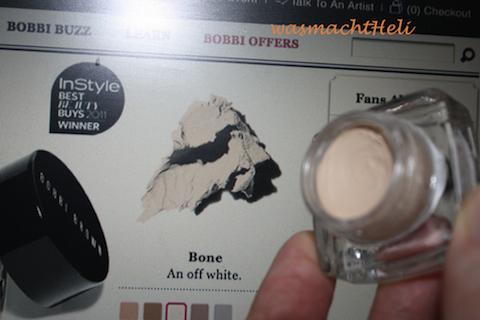 "Bobbi Brown Cream Shadow ""bone"""