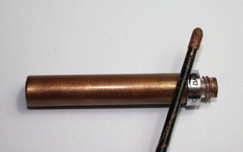 Review: alva flüssiger Lidschatten bronzed hazel