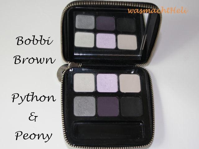 Überblick Bobbi Brown Python and Peony
