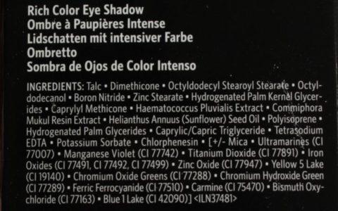 Inhaltsstoffe Bobbi Brown Rich Color Eye Shadow