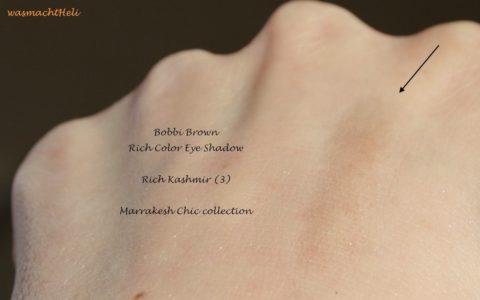 zero pigmentation total diappointment Bobbi Brown Rich Kashmir