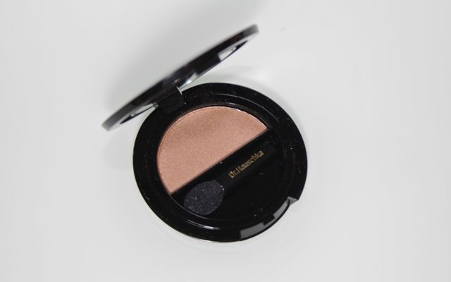Review + Swatch Dr Hauschka Solo Eyeshadow 02 golden earth