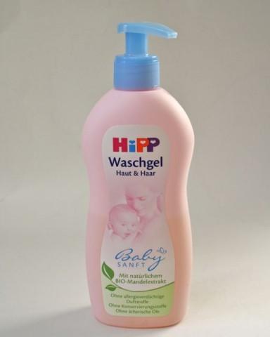 Hipp Waschgel Babysanft für Haut und Haar