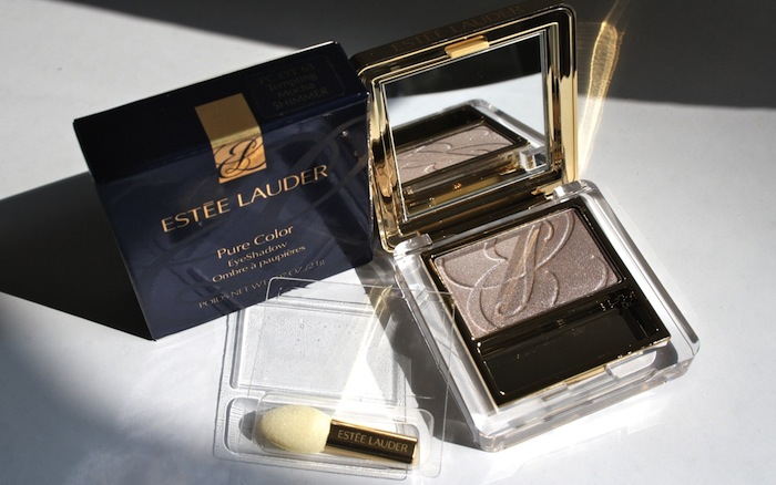 Review: Estee Lauder Pure Color Eye Shadow Tempting Mocha - 63