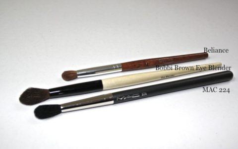 MAC 224, Bobbi Brown Eye Blender, Beliance Lidschattenpinsel