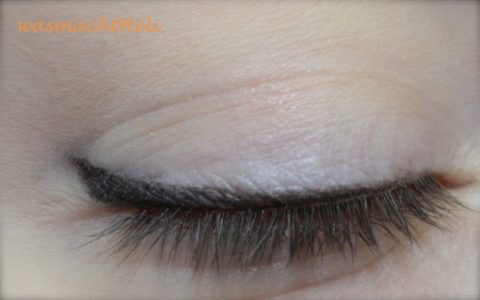 AMU mit Alterra Creme Eyeliner