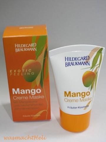 Test: Hildegard Braukmann Mango Creme Maske