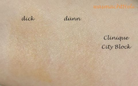 Swatch: Clinique City Block Sheer SPF 25
