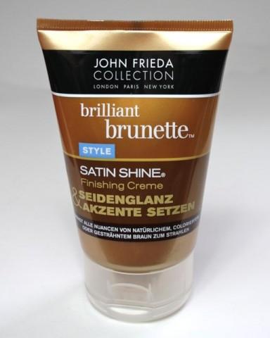 Testbericht: John Frieda Brilliant Brunette Satin Shine Finishing Creme